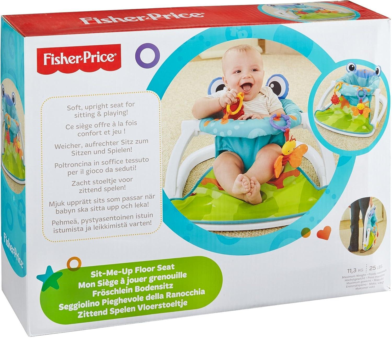Fisher Price Sit Me Up Floor Seat Frog Amazon Baby