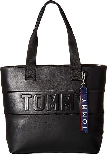 Amazon.com: Tommy Hilfiger Chiara - Bolso de PVC para mujer ...