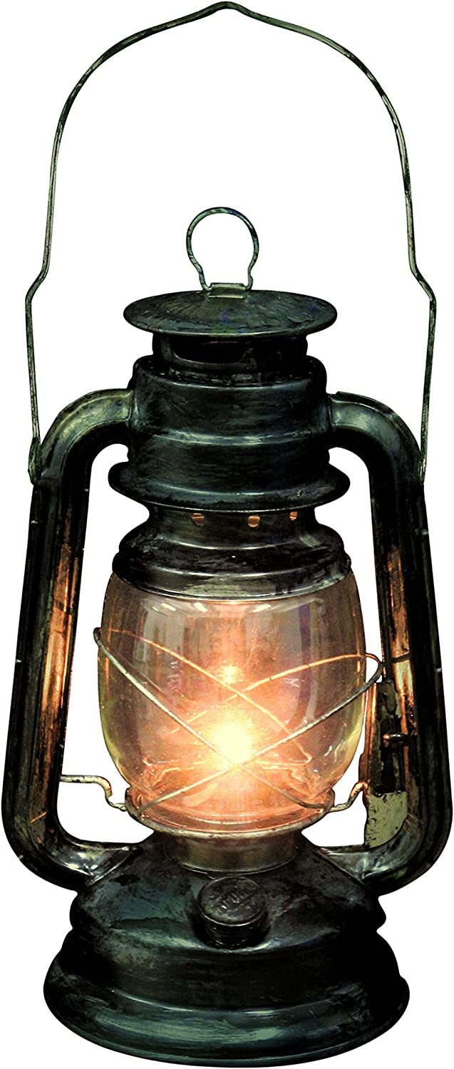 Seasons Rustic Old Fashioned Light Up Lantern, Multi-Colored, One Size: Toys & Games