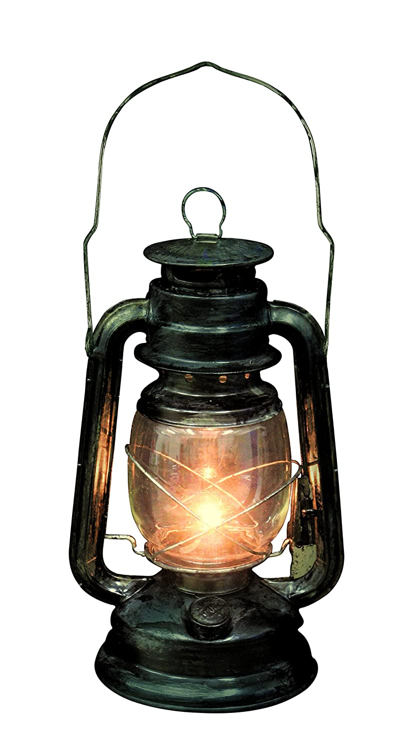 Seasons Rustic Old Fashioned Light Up Lantern