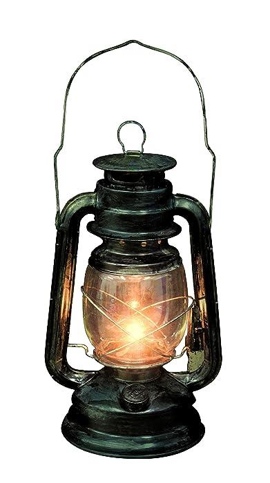 Seasons Rustic Old Fashioned Light Up Lantern