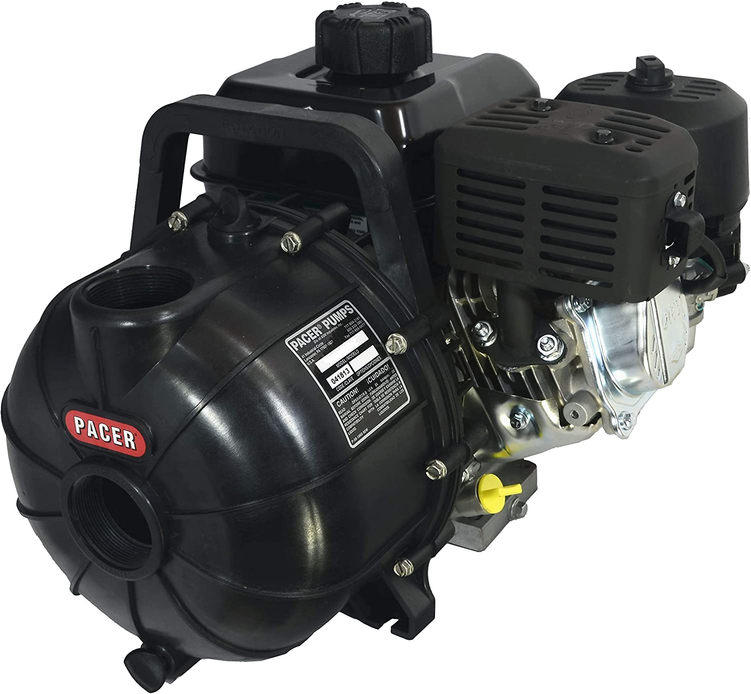 Pacer Pumps SE2PL E550 Multi-Purpose Water Transfer Pump with 2 Inch Inlet and Outlet