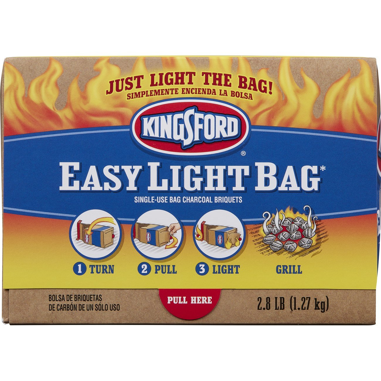 amazon com kingsford easy light bag 2 8 pounds pack of 2