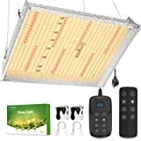 Grow Light, Briignite LED Grow Lights, 150W Full Spectrum LED Grow Light with Samsung LM281B LEDs, Dimmable & Timing, Plant L
