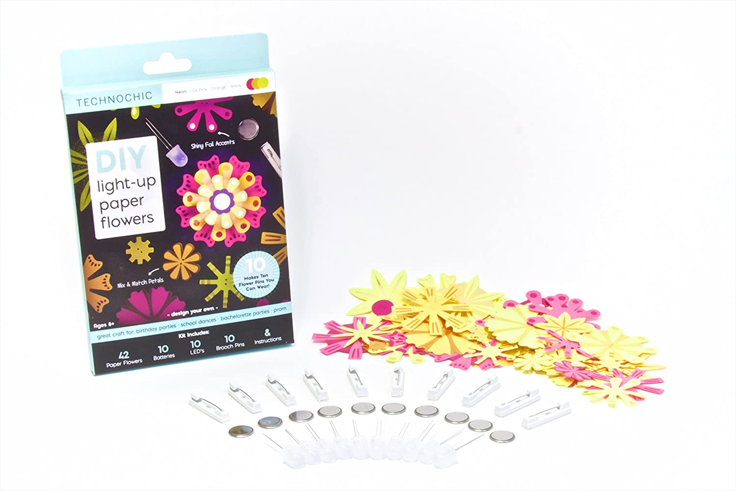 Paper Flower Kits Cablo Commongroundsapex Co