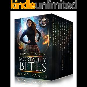 Mortality Bites - The COMPLETE Boxed Set (Books 1 - 10): An Urban Fantasy Epic Adventure
