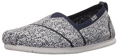 Skechers Bobs Damen Slipper Plush Lite Tailor Made Blau/Weiß   37 EU