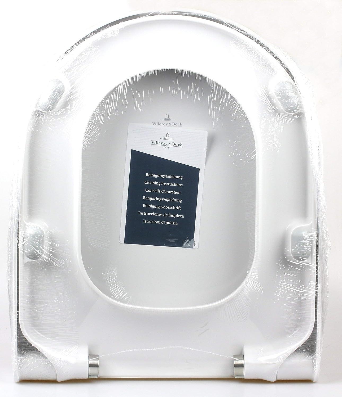 Wei/ß Bianco Sedile copri-WC Villeroy /& Boch 9M55Q101