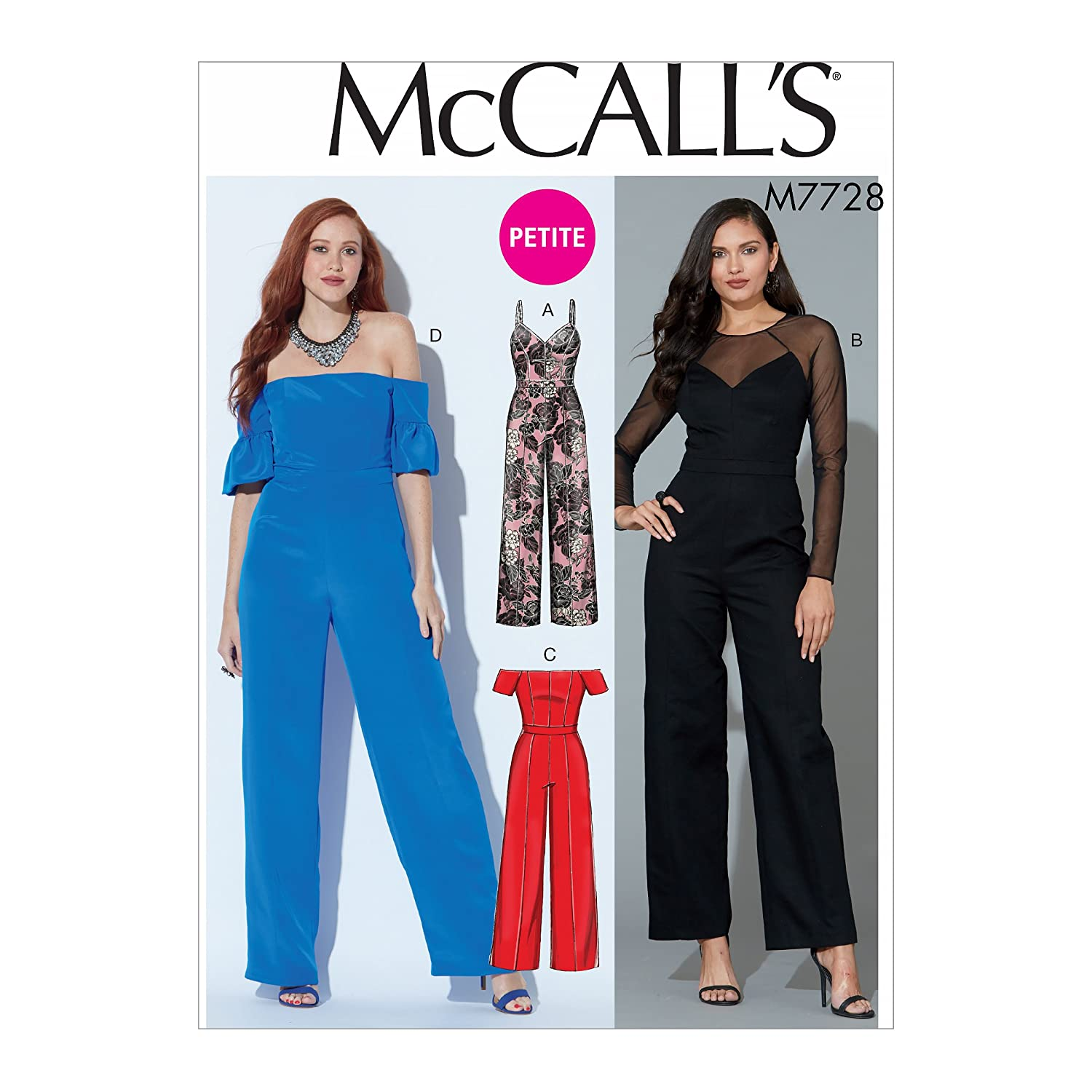 Amazon.com: McCalls 5945 Sewing Pattern Misses Tops, Pants and Shorts, Sizes 8-10-12: Kitchen & Dining
