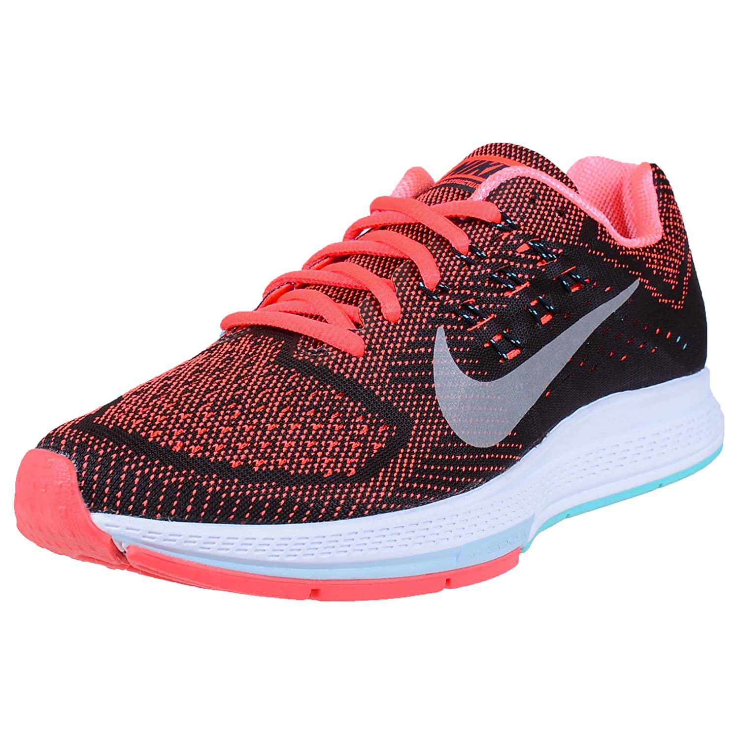 reputable site 0fc67 2eeb5 Nike Air Zoom Structure 18 W Women Black Size: 3.5: Amazon ...