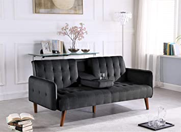 Amazon.com: US Pride Furniture SB9070 - Sofá cama, color ...