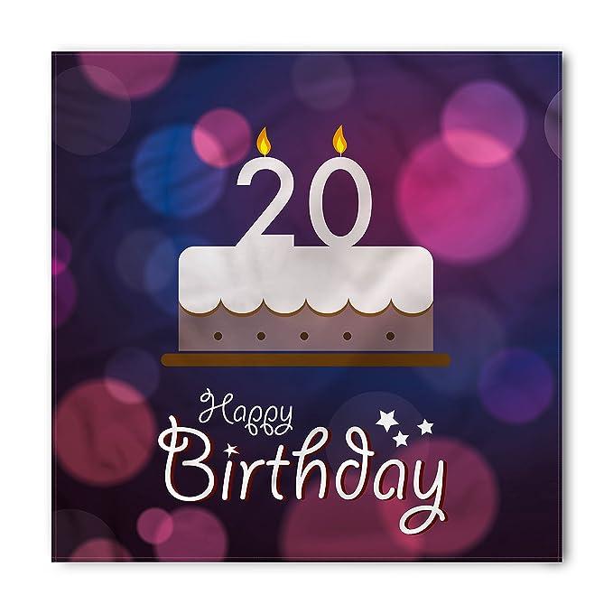 Amazon Ambesonne 20th Birthday Bandana Twenty Birthday Cake