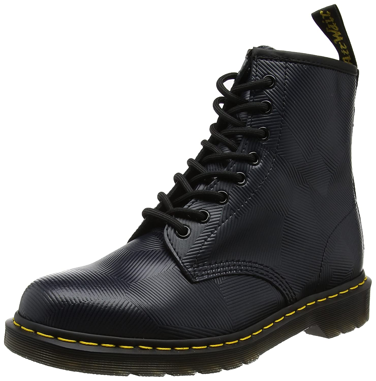 Dr. Martens Men's 1460 Oxford B01NBP9232 12 M UK (Men's 13 US)|Charcoal Geostripe