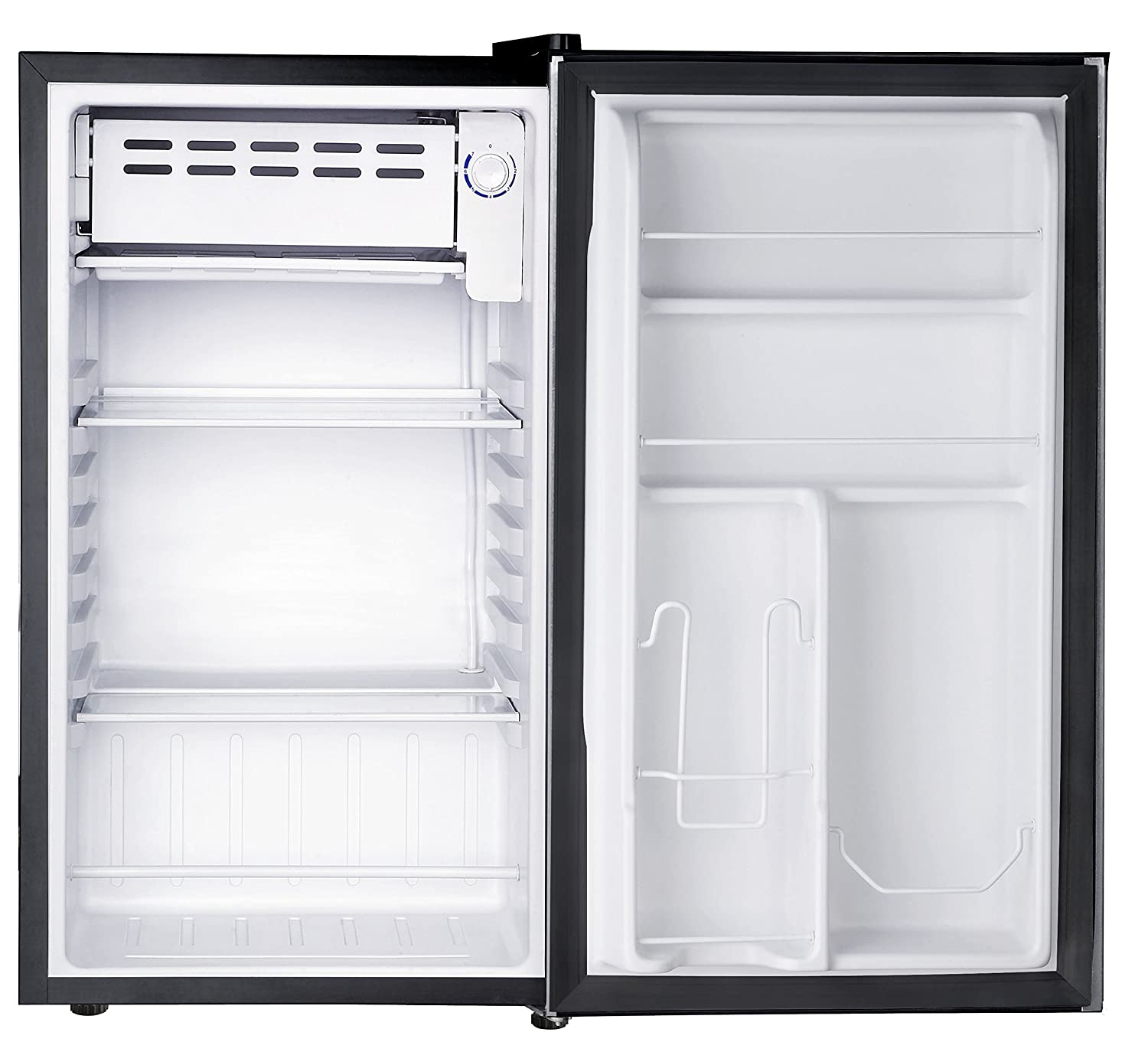 refrigerator 7 5 cu ft. amazon.com: rca rfr321-fr320/8 igloo mini refrigerator, 3.2 cu ft fridge, stainless steel: kitchen \u0026 dining refrigerator 7 5 g