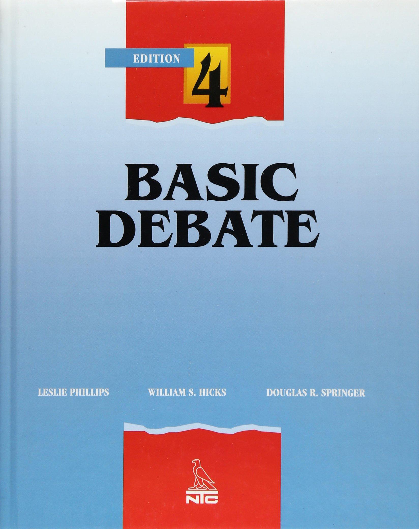 Debate, Student Edition