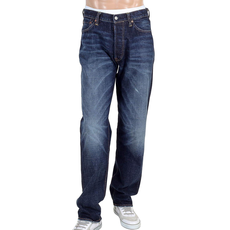 f04859ad2205 Evisu Jeans diacock dark stone wash jean EVIS1689  Amazon.co.uk  Clothing
