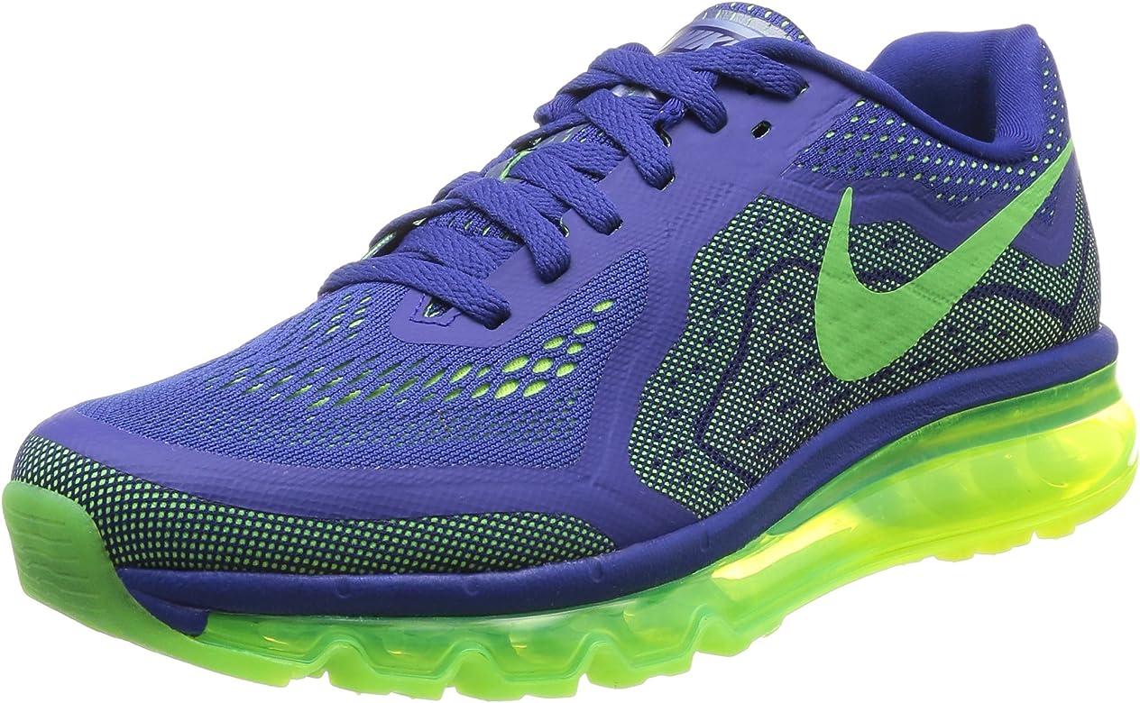 Nike Air Max 2014, Scarpe sportive, Uomo, Blu (dp ryl blue/elctrc grn-vlt-blk 402), 40.5: Amazon.es: Zapatos y complementos