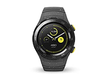 Huawei - Watch 2 Sport - Montre GPS sport connectée - Smartwatch pour Android et iOS