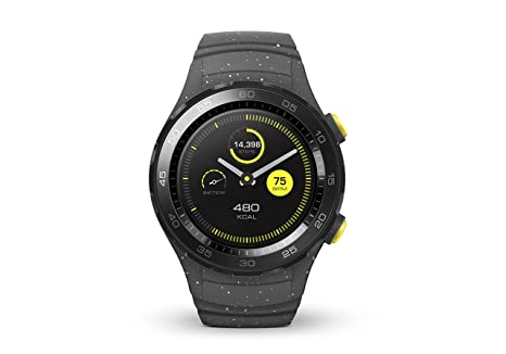Huawei Watch 2 - Smartwatch Android (Bluetooth, WiFi) Color Gris (Concrete)