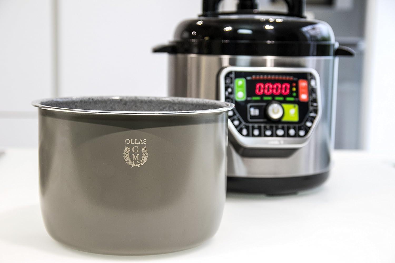 Apta para ollas programables GM de 6 litros Cubeta cer/ámica con Antiadherente tricapa Exc/élsior