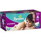 Pampers Cruisers Diapers Size 7 92 Count (old version) (Packaging May Vary)