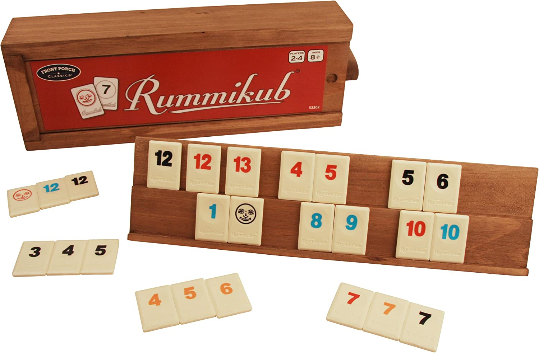 Rummikub, 106 Tiles by Front Porch Classics: Amazon.es: Juguetes y ...
