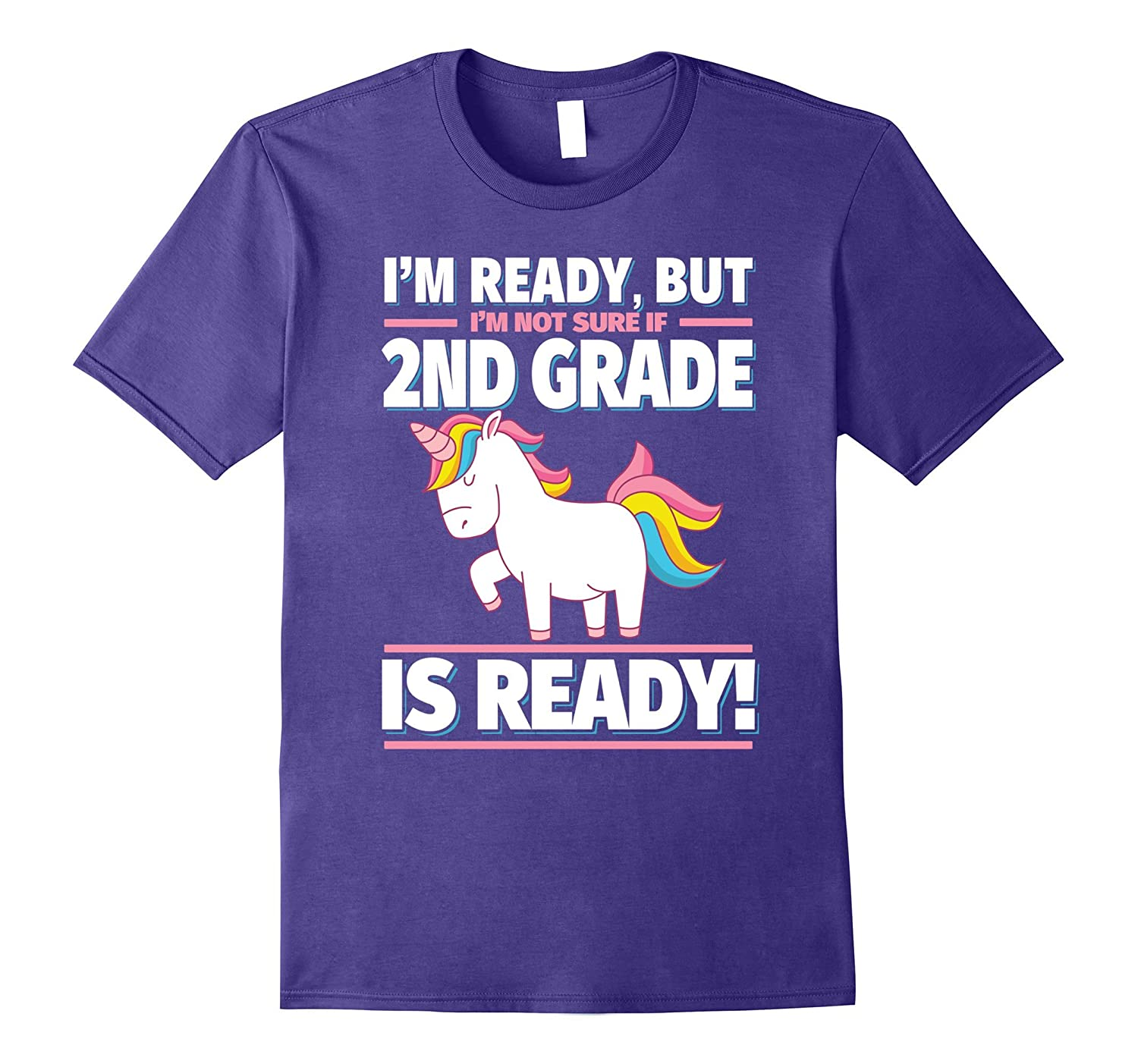 2nd Grade Back to School Unicorn Shirt - Is 2nd Grade Ready?-TH