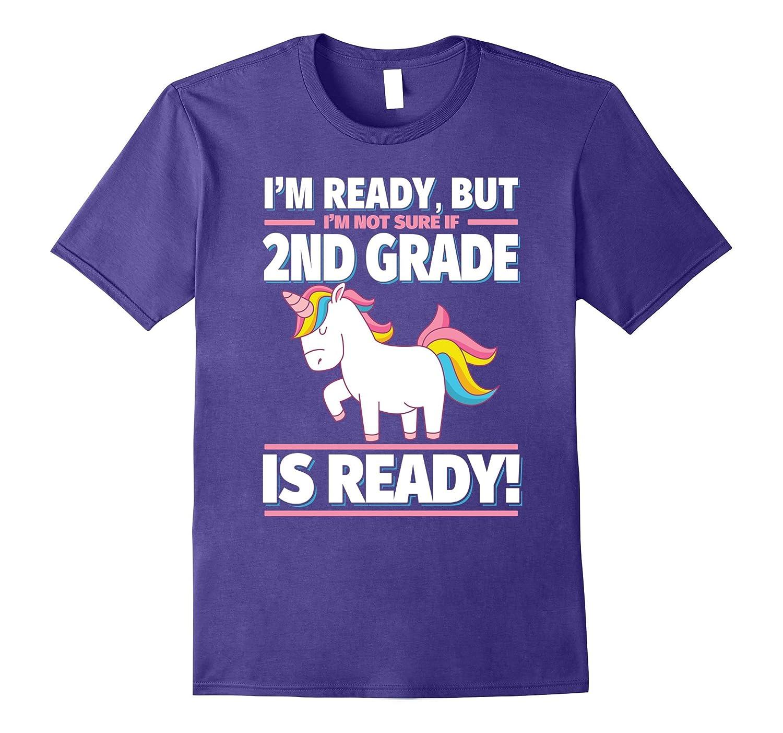 2nd Grade Back to School Unicorn Shirt - Is 2nd Grade Ready?-Art
