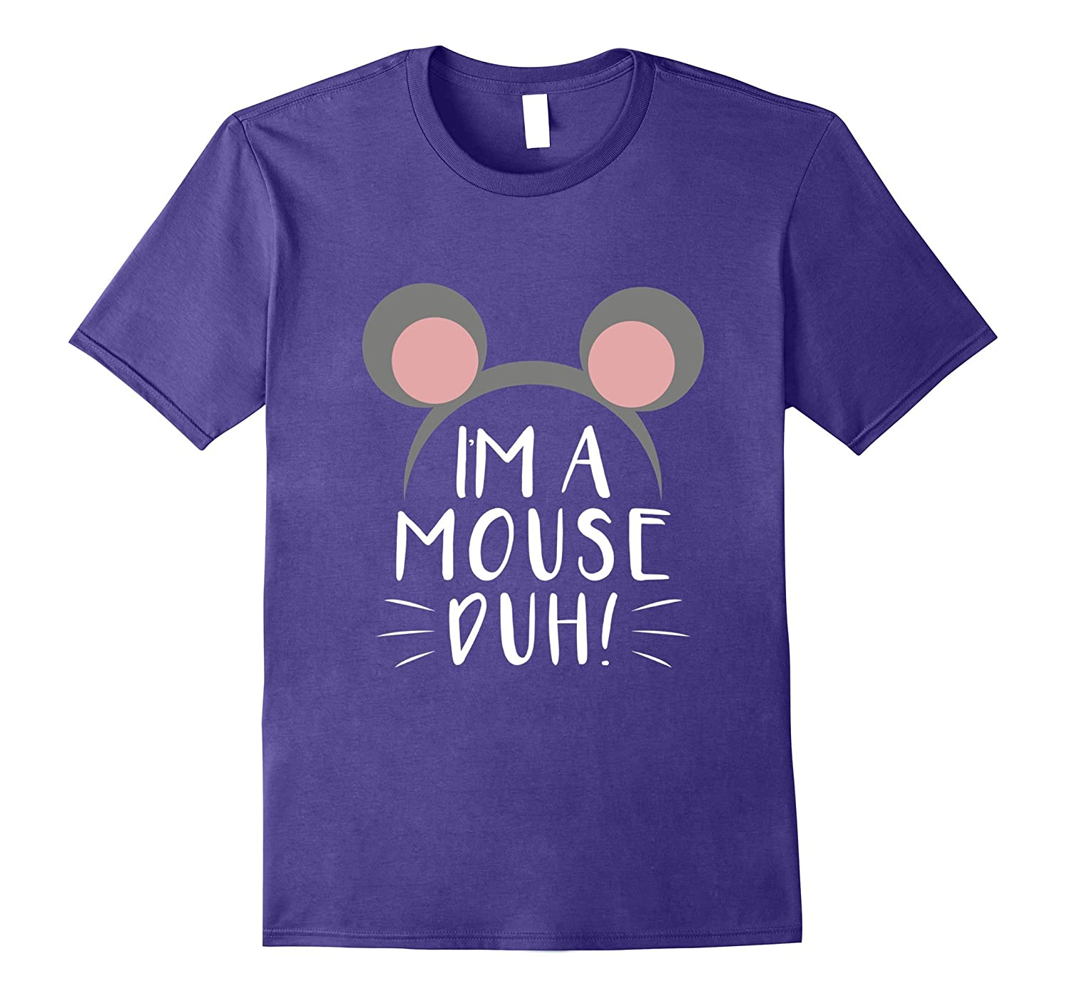 Im A Mouse Duh Cute Halloween Tshirt Idea-FL