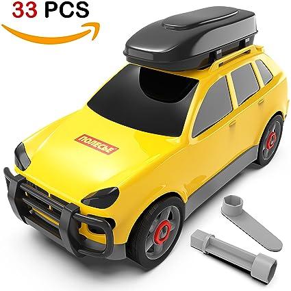 Amazon Com Take Apart Car Toys For Boys Toy Building Cars Build