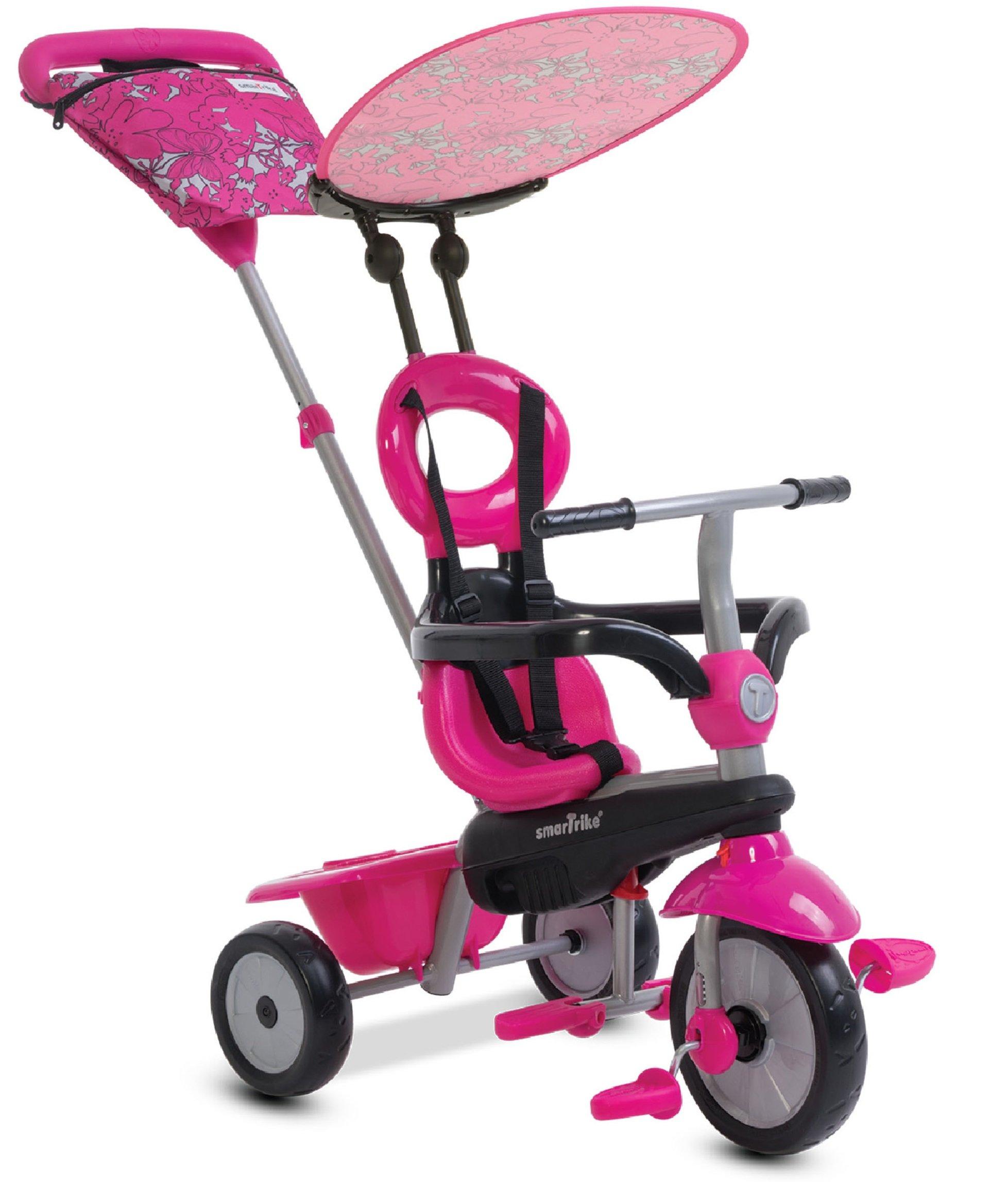 smarTrike Vanilla Baby Tricycle, Pink by smarTrike
