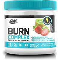Optimum Nutrition Burn Complex Thermogenic Powder, Caffeinated, Strawberry Kiwi, 150 Grams