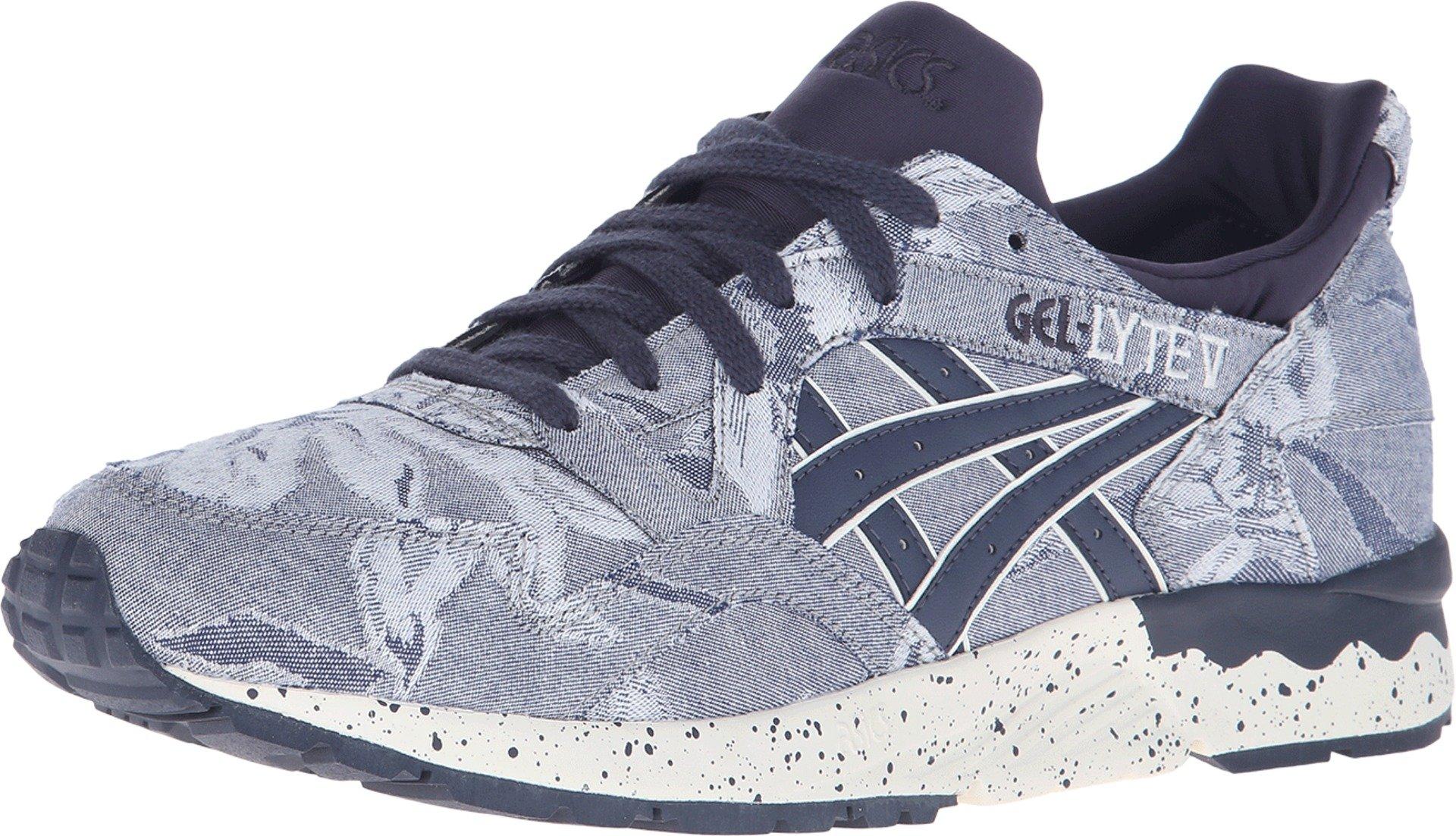Asics Tiger Men Gel-Lyte V - Japanese Textile (navy / indian ink) Size 5.5 US by ASICS