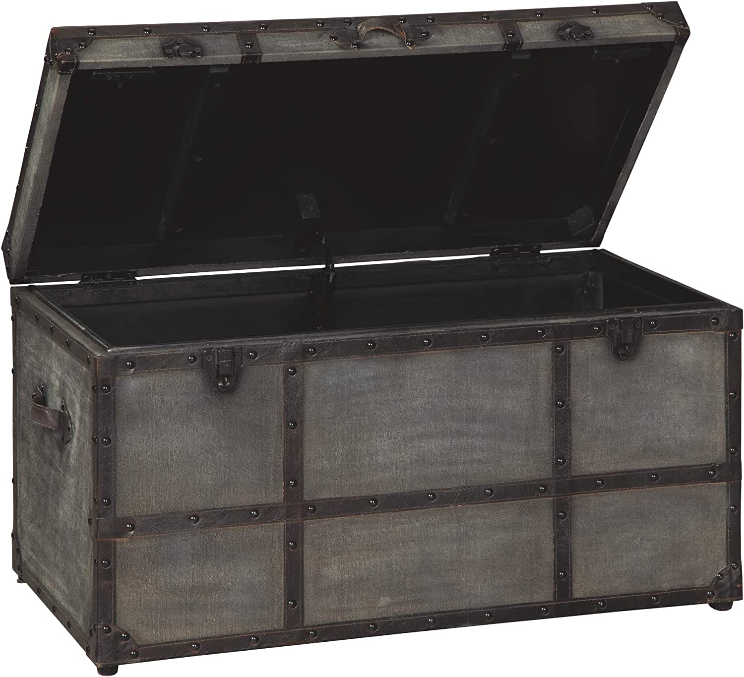 Signature Design by Ashley Amsel Storage Trunk, Gray