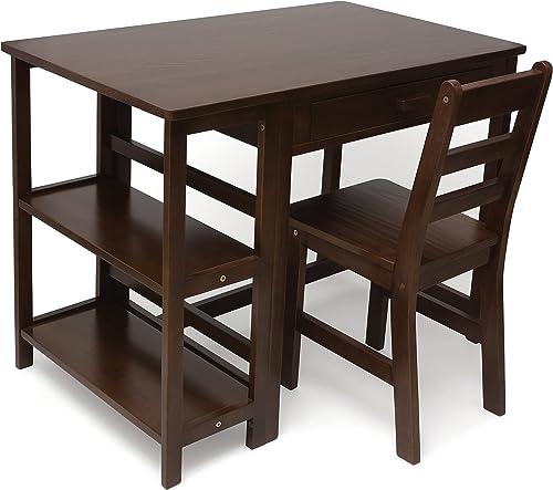 Lipper International 584WN Child's Work Station Desk and Chair