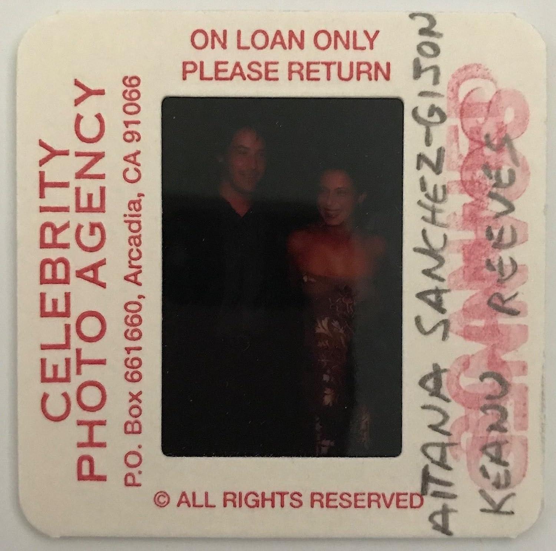 Amazon.com: 35mm Color Slide Film Celebrity Photograph Keanu ...