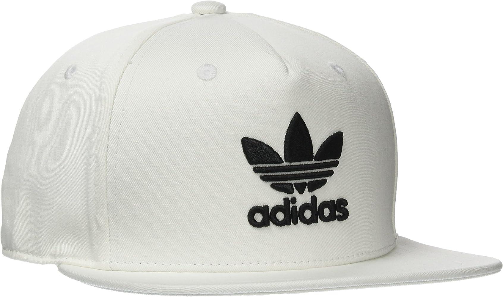 adidas AC Tre Flat Gorra, , Blanco / Negro, OSFW: Amazon.es: Ropa ...