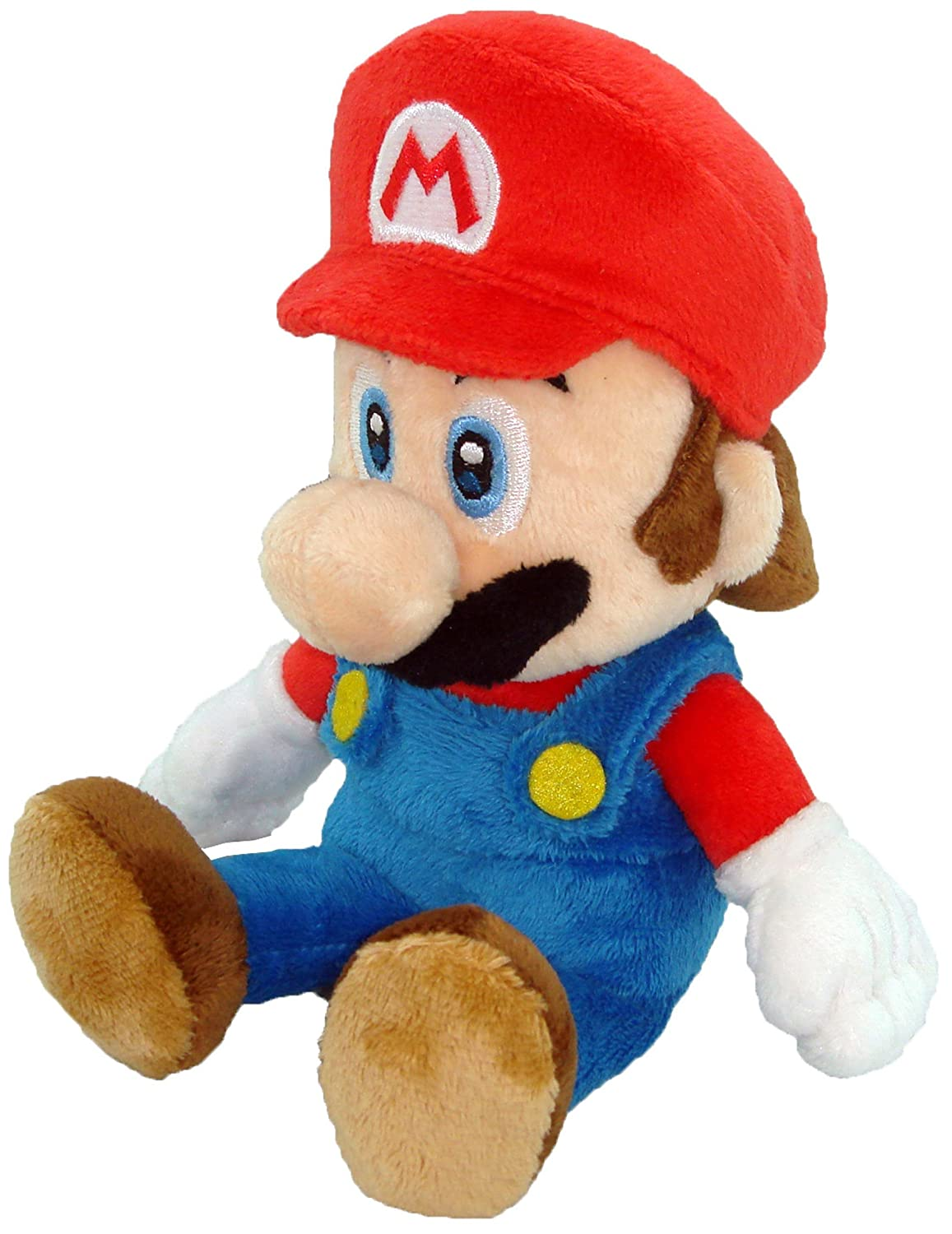Little Buddy Super Mario Bros 8-Inch Mario Plush 1214 Accessory Consumer Accessories