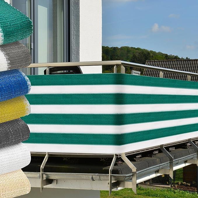 6 opinioni per Sol Royal Frangivista per balconi 500x90 cm- verde-bianco- protegge da raggi UV-