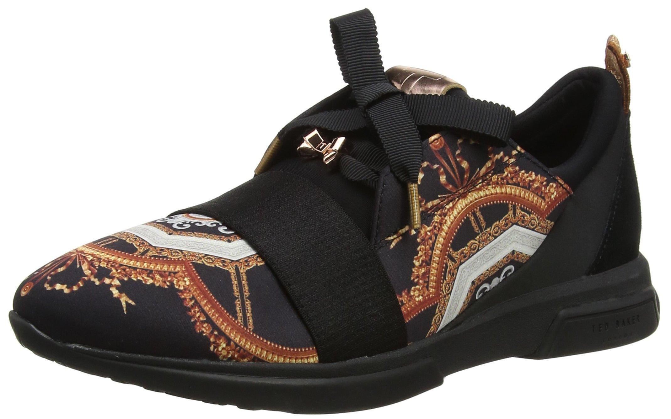 Ted Baker Cepa, Women's Sneakers, Black (Black Versailles #000000), 6 UK (39 EU)