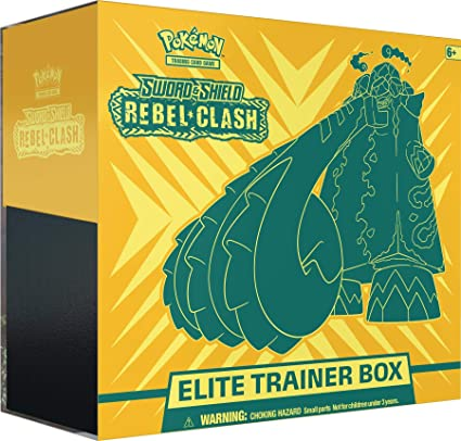 Pokèmon - Sword & Shield Rebel Clash - Elite Trainer Box: Amazon.es: Juguetes y juegos