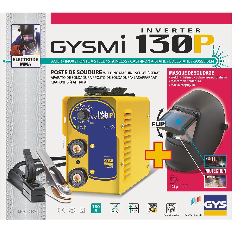 Abratools Gysmi 130P - Pack inverter MMA: Amazon.es: Industria, empresas y ciencia
