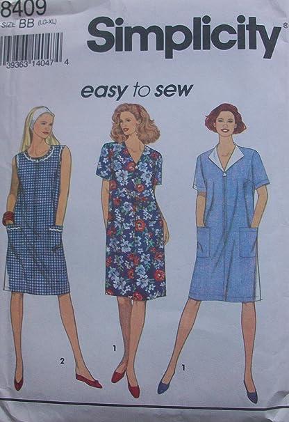 Amazon.com: Vogue Vintage Sewing Pattern 8655 - Misses\' Maternity ...