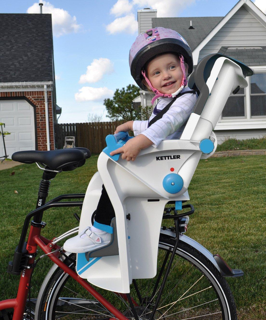 Blue Kettler Flipper Child Bike Seat