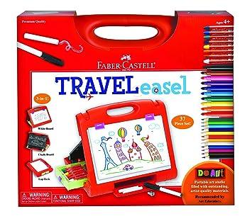 Do Art Travel Easel Kit Amazon De Kuche Haushalt