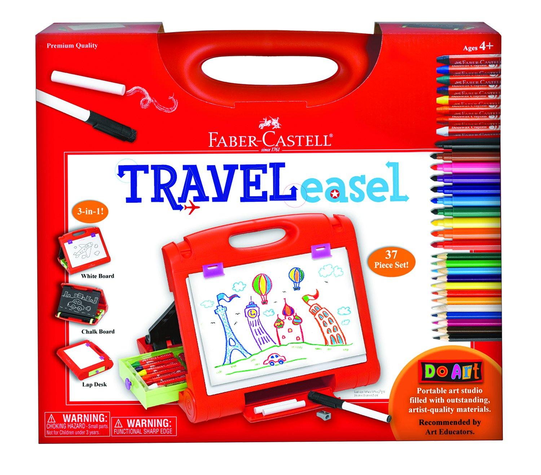 Faber Castell Do Art Travel Easel - Portable Art Kit for Kids