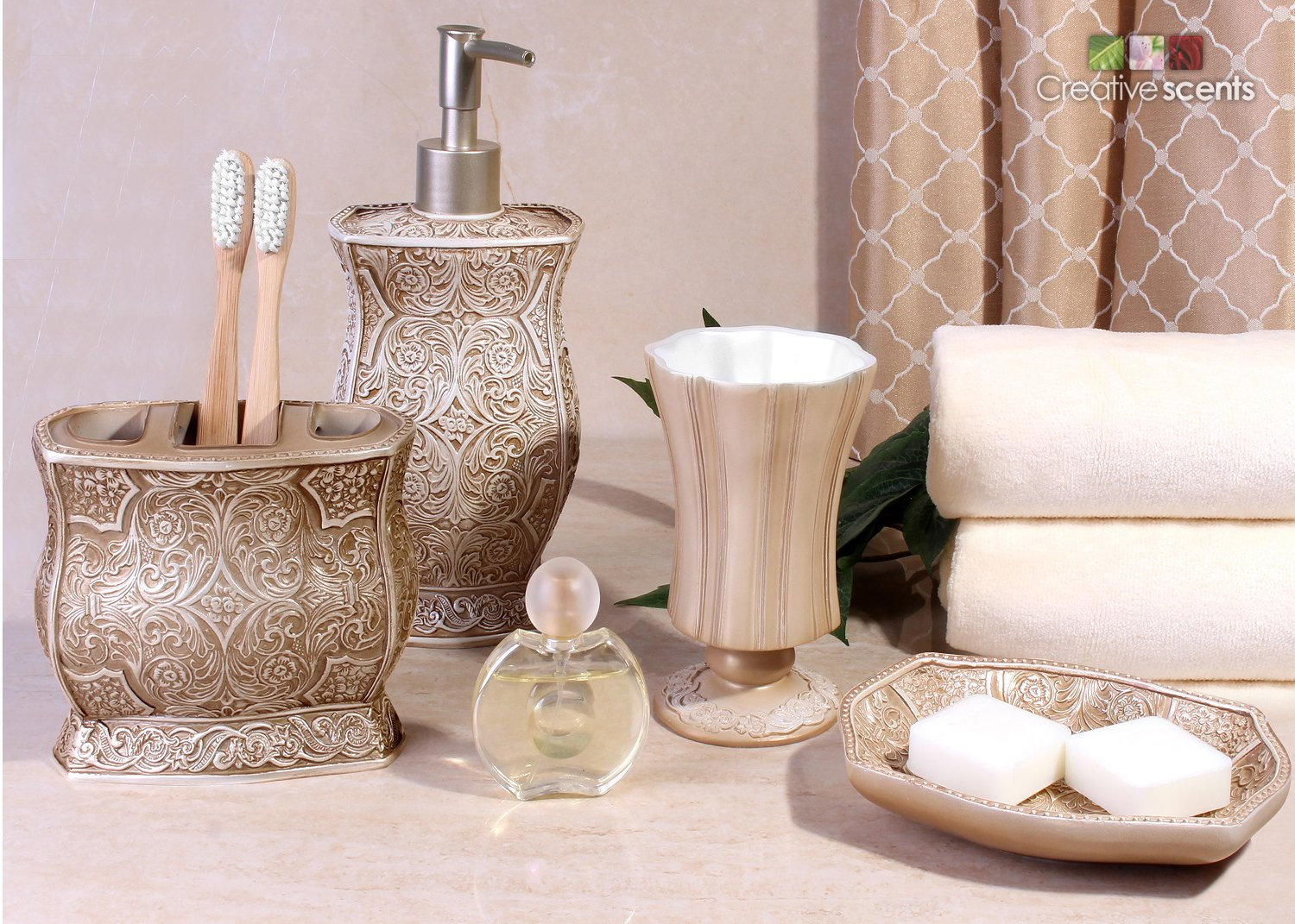 Victoria Bath Ensemble Piece Bathroom Accessories Set Victoria