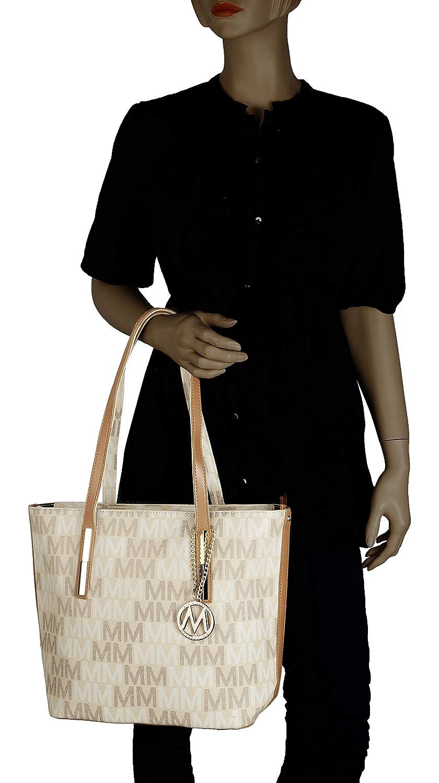 "6150d68f626e Amazon.com: Womens Designer Purses and Handbags Ladies Corinna ""M ..."