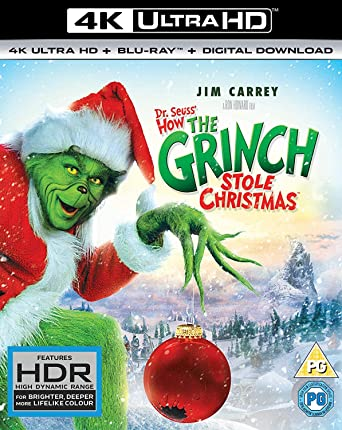 How The Grinch Stole Christmas Jim Carrey.Amazon Com How The Grinch Stole Christmas Blu Ray Jim