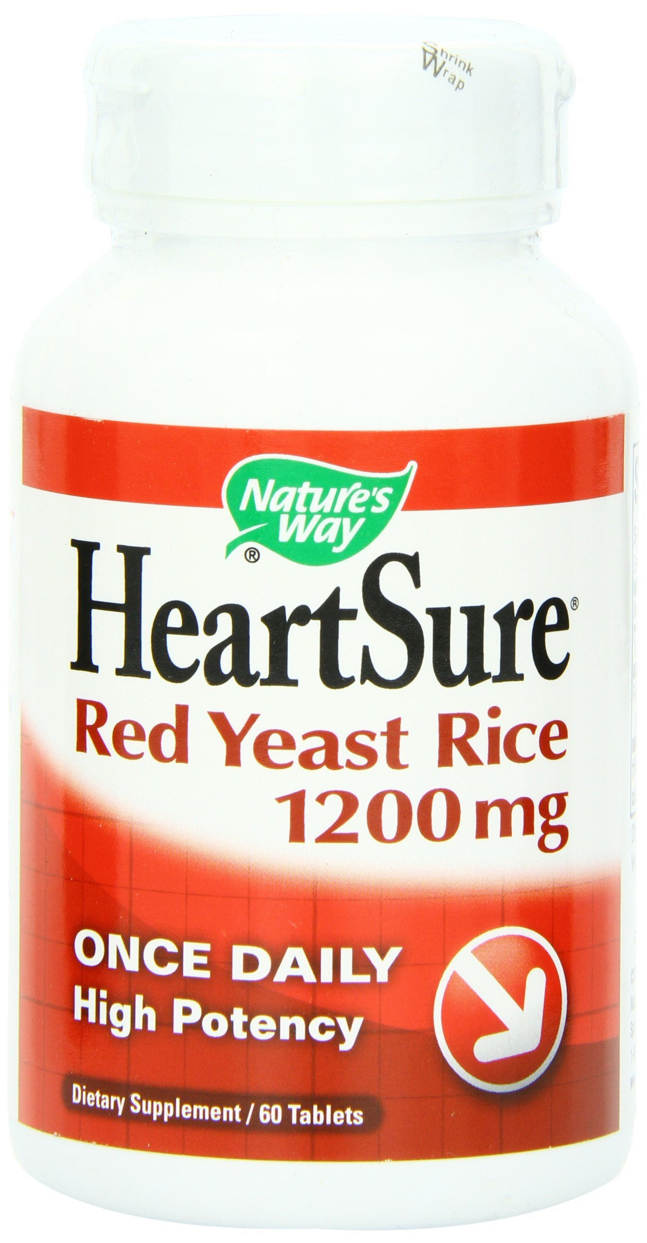 Nature's Way HeartSure Red Yeast Rice 1200 mg 60 Tabs